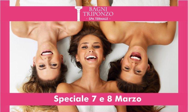 Speciale 7 & 8 marzo, promo SPA per tutte le donne!