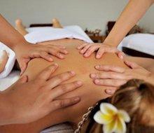 Massaggio relax a 4 mani - 25 minuti