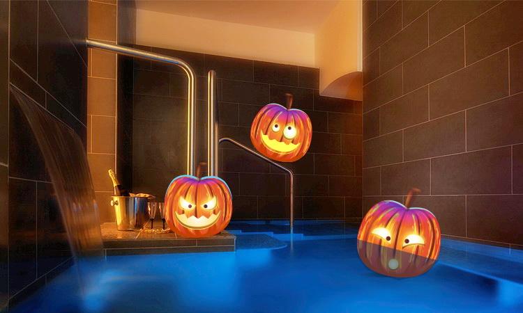 Notte di Halloween alle terme